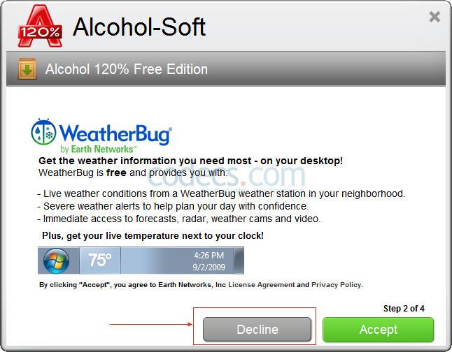 Codecs com | Screenshots for Alcohol 120% 2 1
