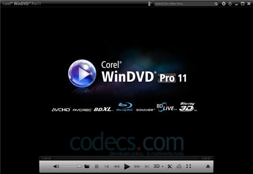 Corel WinDVD Pro 12.0.160 screenshot