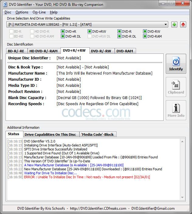 Free Download DVD Identifier 5 2 0