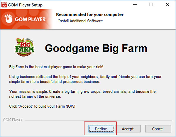 Gom Player 2.3.59 screenshot