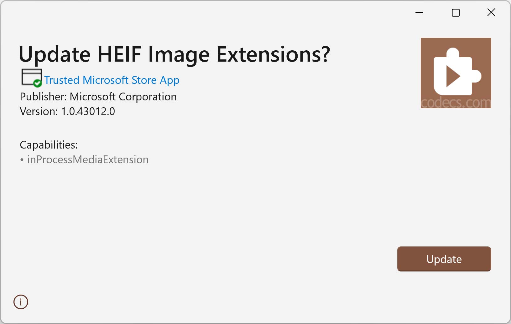 HEIF Image Extensions 1.0.40978 screenshot