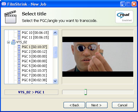 FilmShrink 0.3.3 Beta screenshot