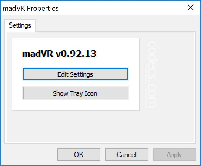 madVR 0.92.17 screenshot