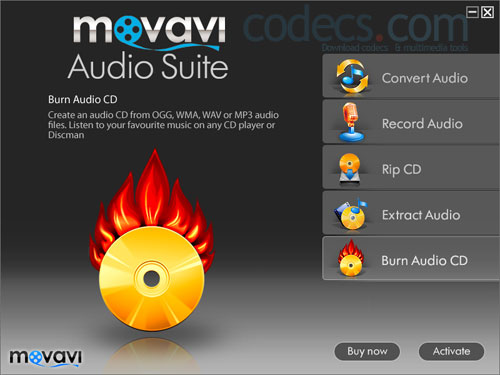 Movavi AudioSuite 1.3 screenshot
