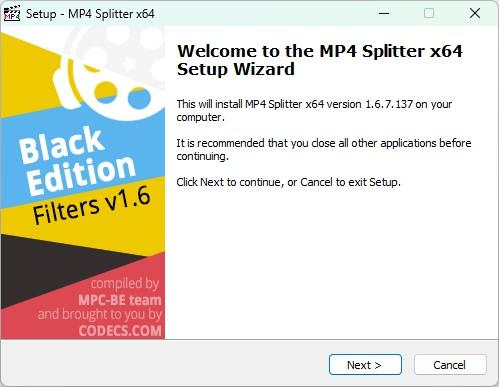 MP4 Splitter 1 5 4 4666 Free Download