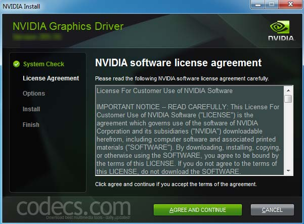NVIDIA GeForce Graphics Drivers 457.30 screenshot