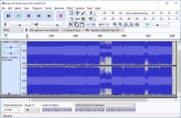 Audacity 2.4.2 screenshot