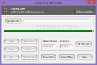 Eusing Free MP3 Cutter 2.6 screenshot