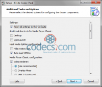 K-Lite Codec Pack 15.2.2 beta screenshot
