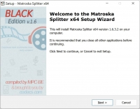 Matroska Splitter 1.5.4.4589 screenshot