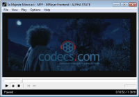 MPlayer Frontend 1.0 rc2 screenshot