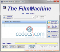 The FilmMachine 1.6.3 screenshot